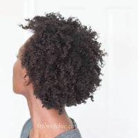 Twist Out on 4c Hair (TWA)