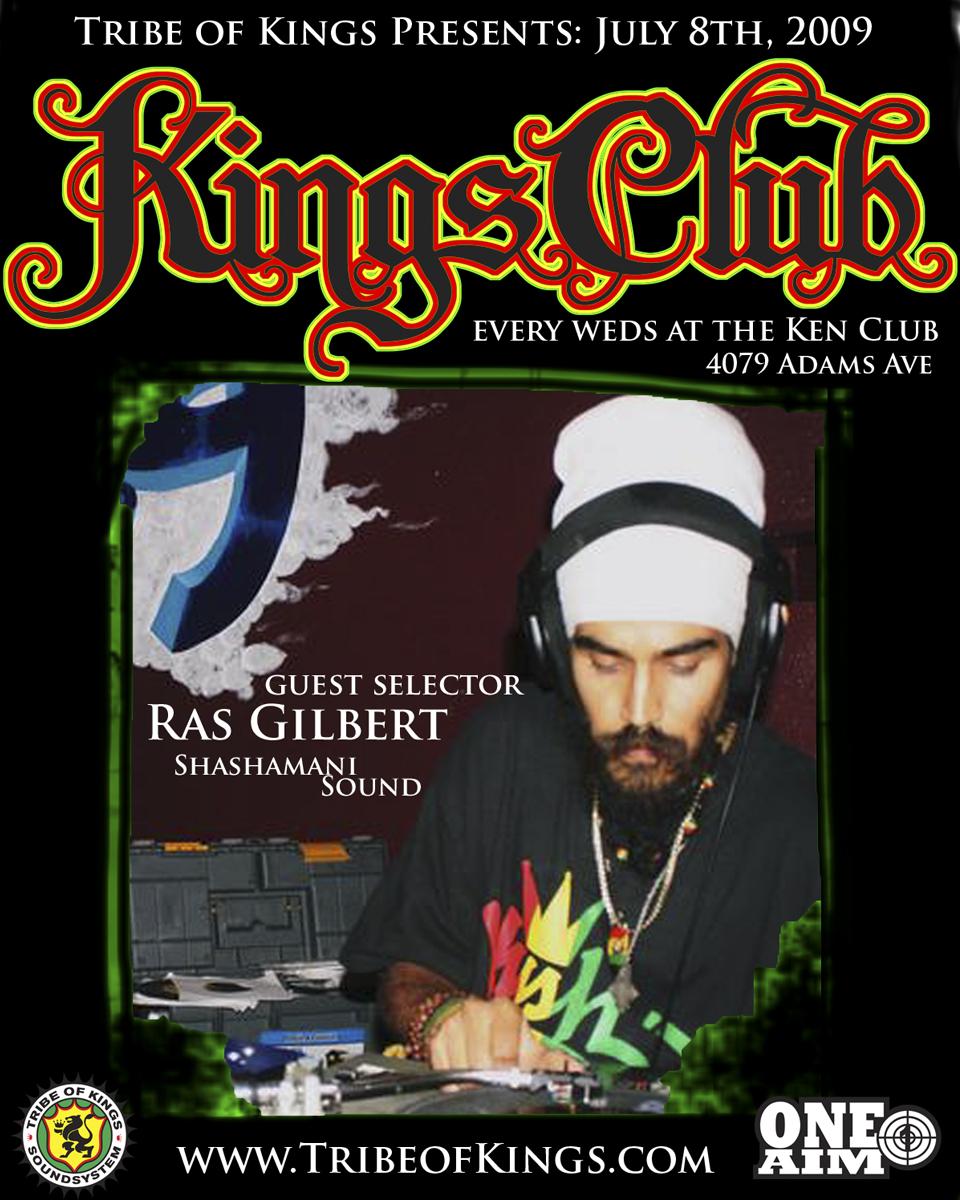 Kings Club Ras Gilbert