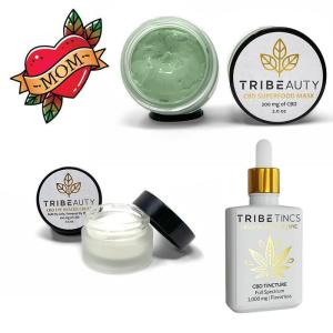 Mother's Day CBD Bundle - Superfood Face Mask, Eye Rescue Cream & 1000 mg Lemon Tincture