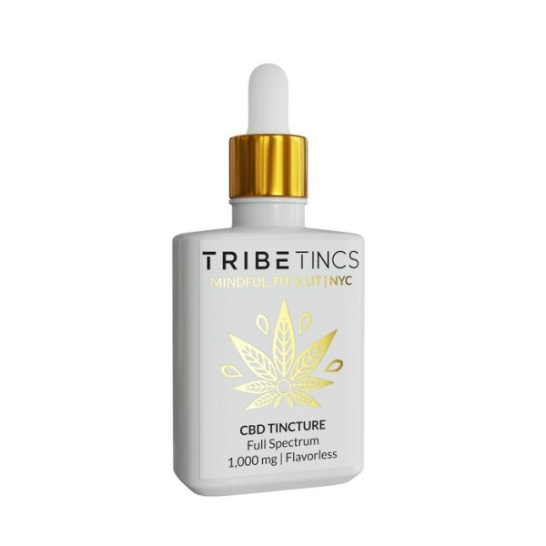 CBD Tinctures 1000 mg (Flavorless or Lemon)