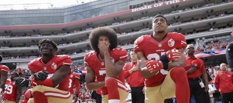 """Athletes unite to """"take a knee"""""""