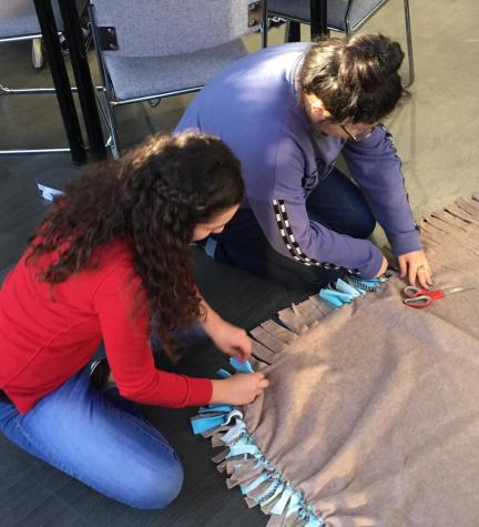 NHS donates blankets with Project Linus