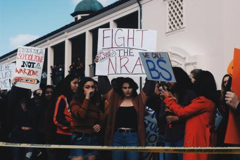 FUHS students walkout for change