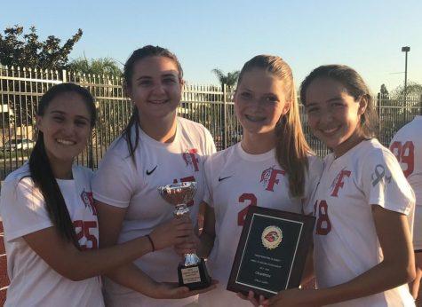 Girls JV soccer: League Champions