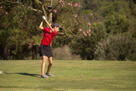 Girl's golf swings into season