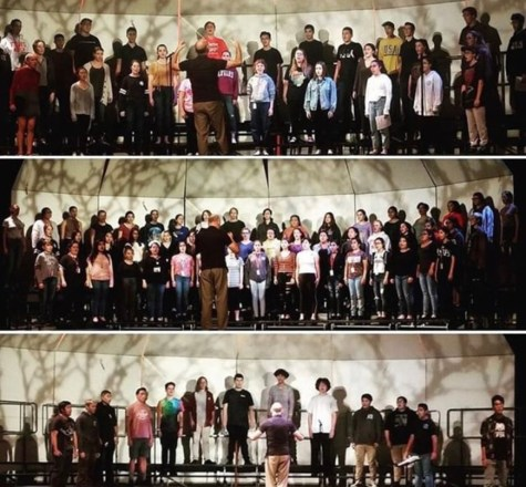 Choir performs in their annual fall concert