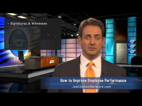 How to improve employee performance
