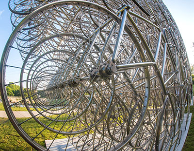ai weiwei contemporary austin forever bicycles