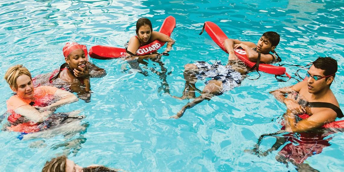forklift danceworks tribeza pool austin