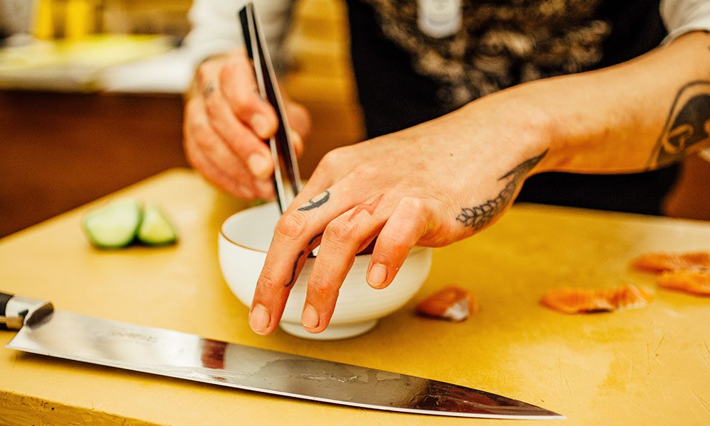 otoko sushi yoshi austin tribeza