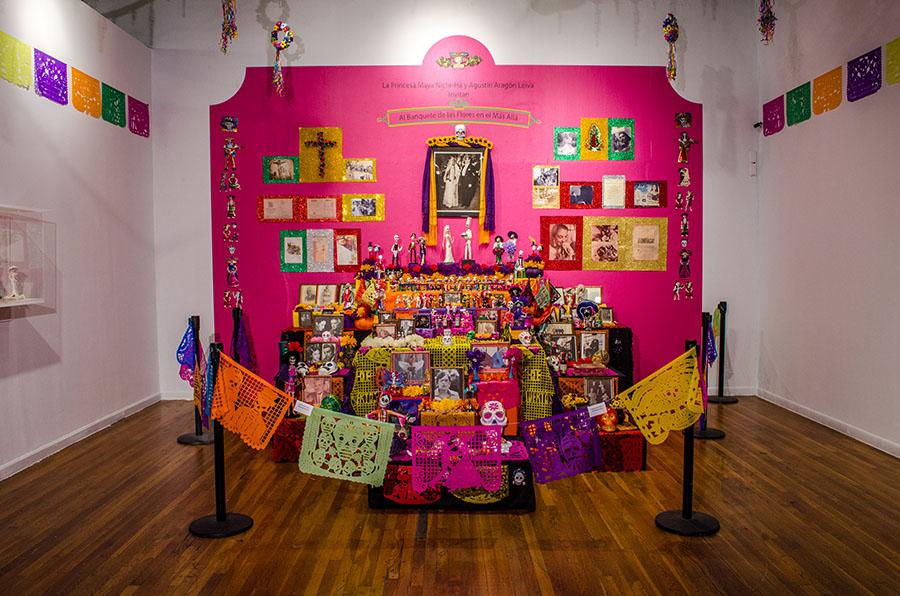 community altars mexic arte museum austin