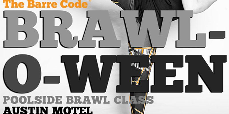 barre code austin brawl halloween austin motel