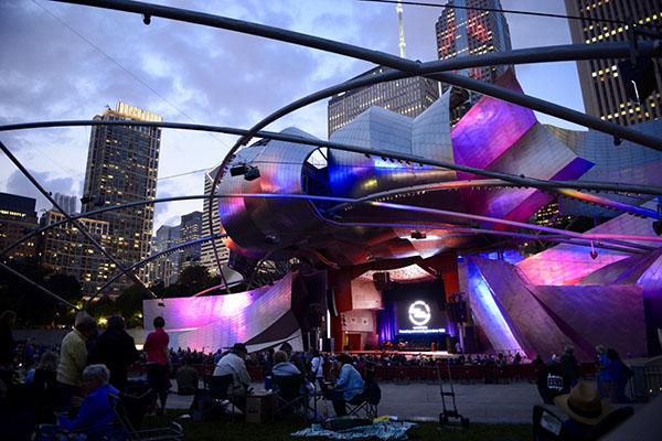 chicago jazz festival travel austin millinium pak