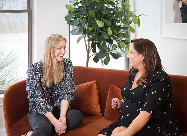 Listening In: Amy Nelson & Jen Pinkston