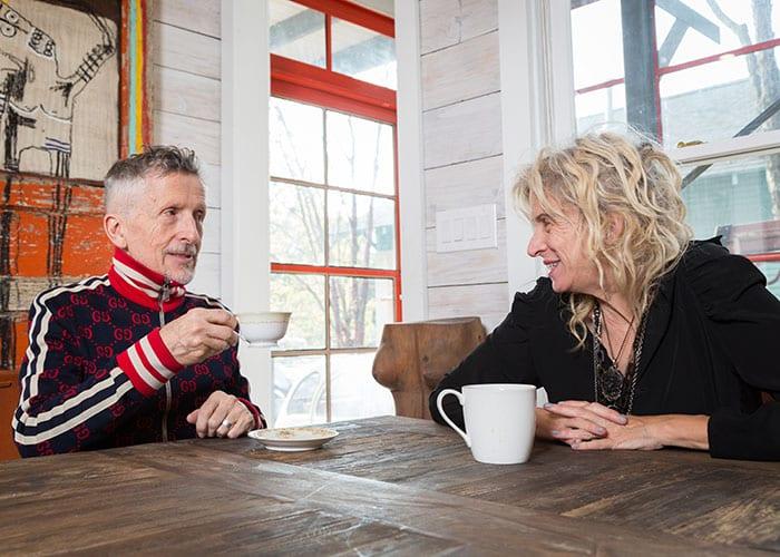 Listening In: Gail Chovan and Simon Doonan