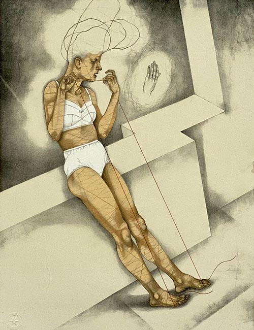 Kathryn Polk: Narrative Lithographs