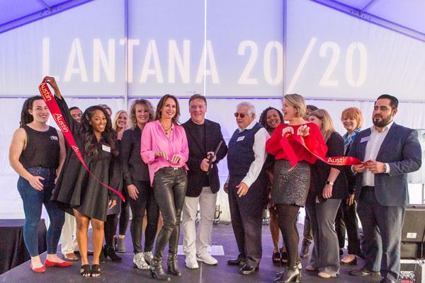 Lantana 20/20 Ribbon Cutting and Grand Opening Ceremony