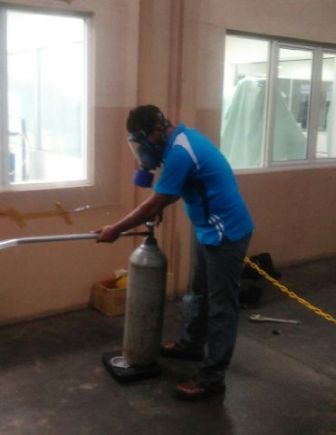 Proses gassing