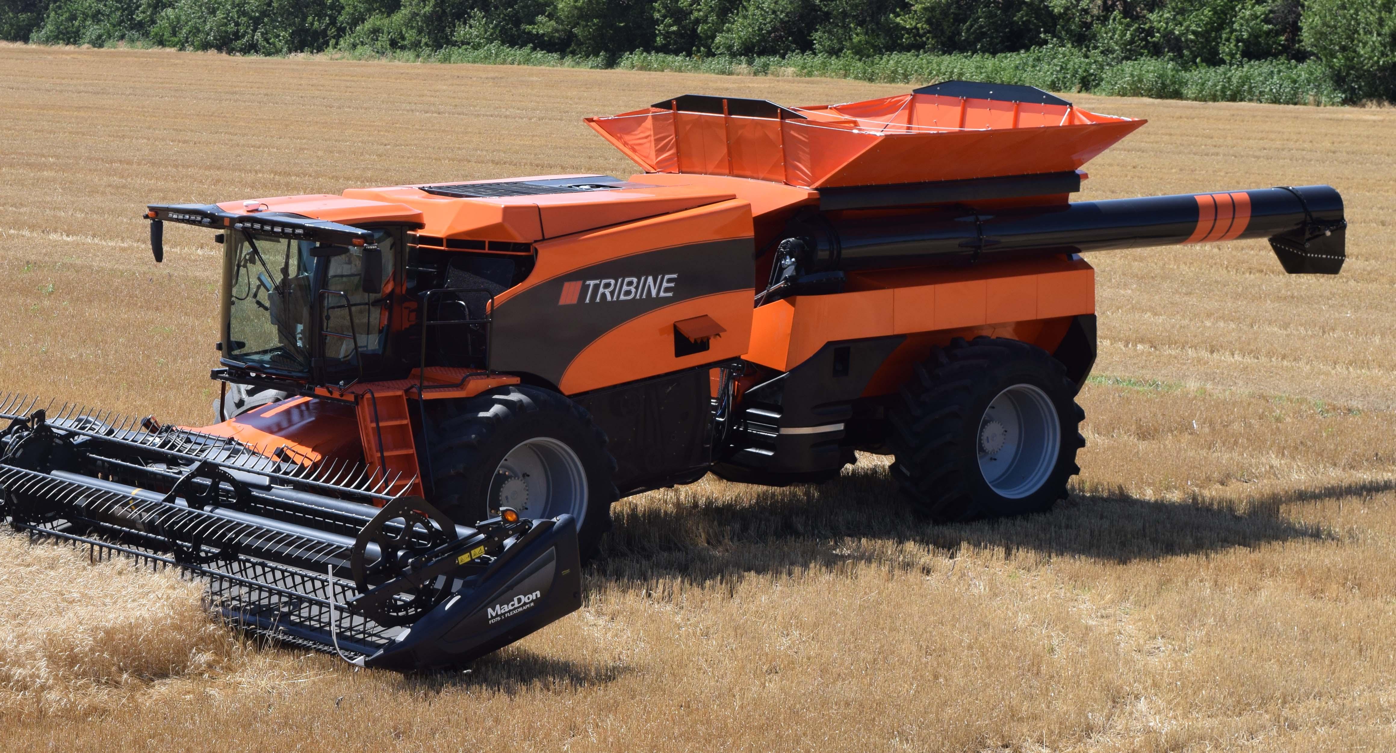 The All New Tribine Harvester TRIBINE