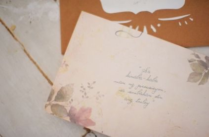 Our Wedding Invitation by Quirky Dots