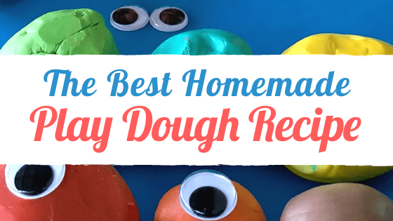 The Best Homemade Play Dough Recipe | www.tribobot.com