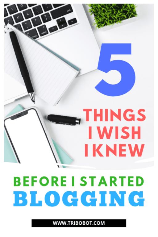 My Top Blogging Tips | www.tribobot.com