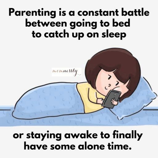 Why Exhausted Moms Stay Up Late
