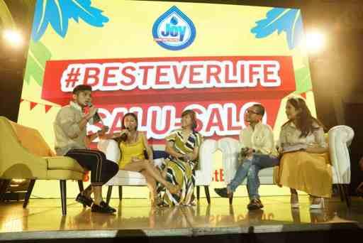 Joy #BestEverLife Salu-Salo celebrates the new Best Ever Joy