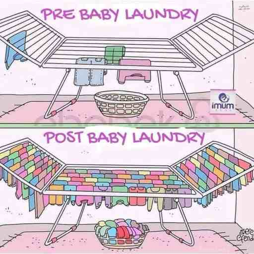 Post Baby Laundry Meme