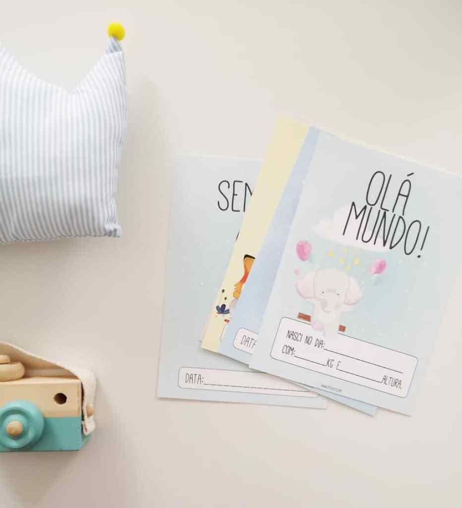 Como registar o crescimento do bebé, ideias, fotografia de bebé, cartões milestones
