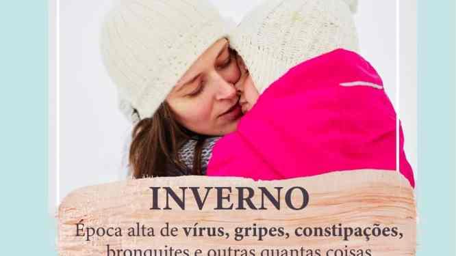 Inverno, virus, otites, bronquiolites, constipação