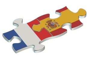 France Espagne, famille recomposée européenne