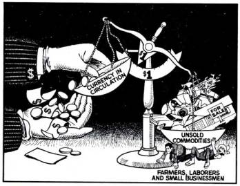 capitalismo y la circulación del dinero