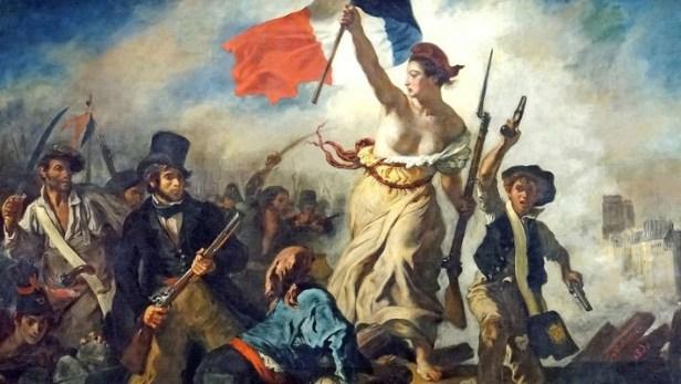 Imagen de la revolución francesa, momento clave para el desarrollo del concepto de progreso.