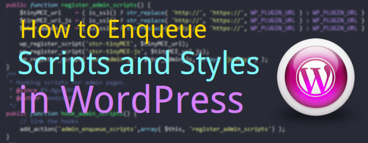 how to enqueue Script and Styles in WordPress