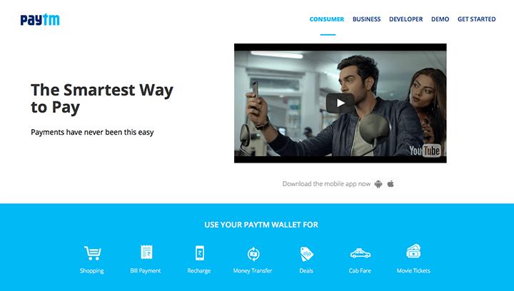 Best Payment Gateway - PayTM