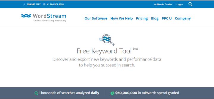 keyword tool for SEO Content