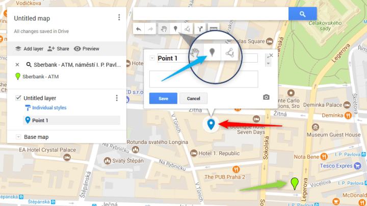 Embedding a google map with multiple markers on your website on
