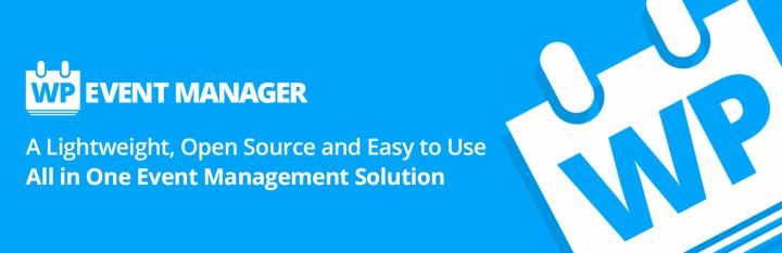 WordPress Event Manager plugin