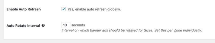 WordPress Banner Rotator plugin auto rotate