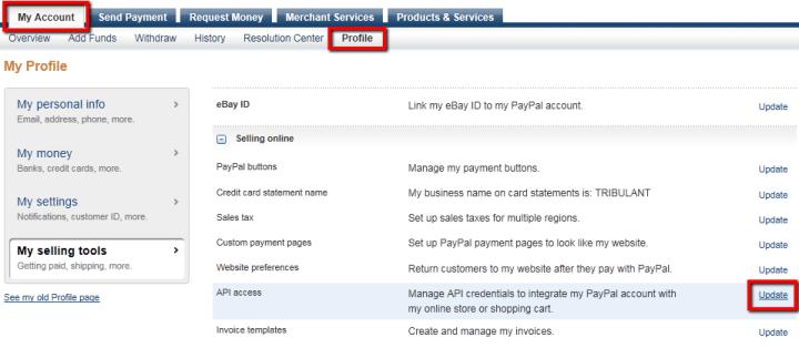 PayPal_API_Access