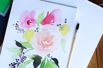 Essayer les jolies fleurs