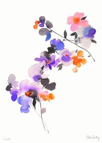 aquarelle inspiration artistes fleurs helen dealtry 3