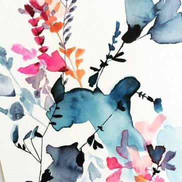 aquarelle inspiration artistes jen garrido