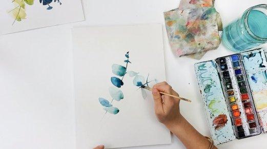 aquarelle eucalyptus-1-2
