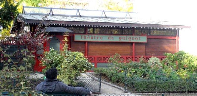 Lundi soleil octobre théâtre de guignol parc Montsouris