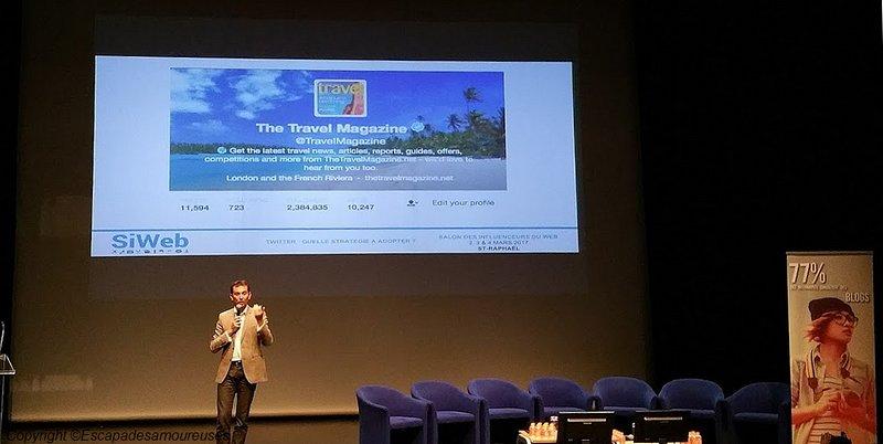 Siweb 2017 the travel magazine conférence
