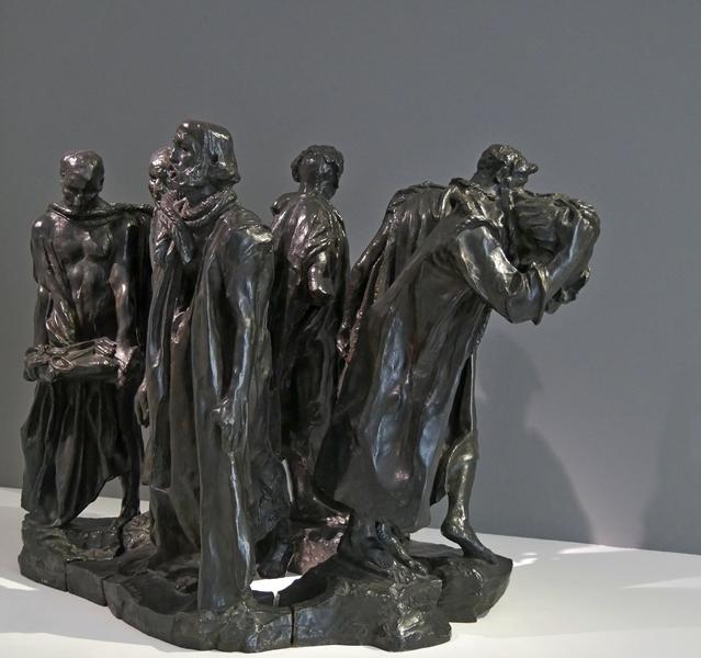 Musée Maillol exposition Giacometti les bourgeois de Calais Rodin