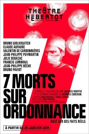 7 morts sur ordonnance au théâtre Hebertot