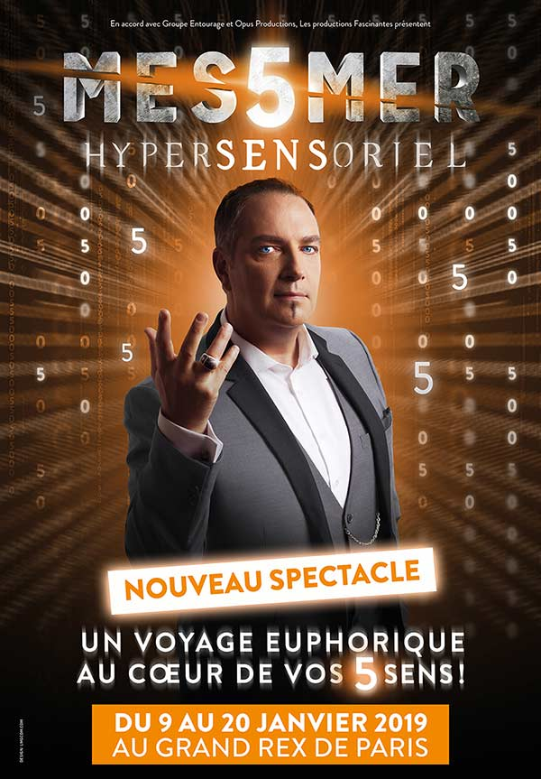 Messmer affiche hypersensoriel au grand rex paris